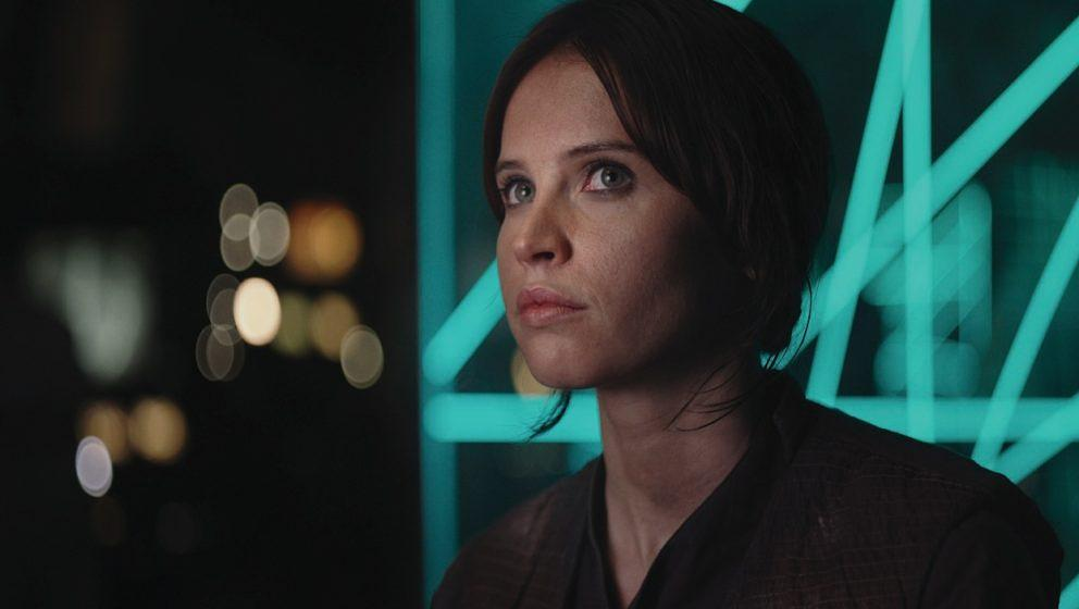 "Felicity Jones spielt die Hauptrolle in ""Rogue One""."