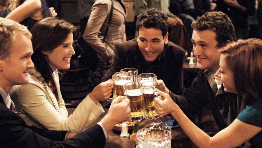 """Der Cast aus """"How I Met Your Mother""""."""