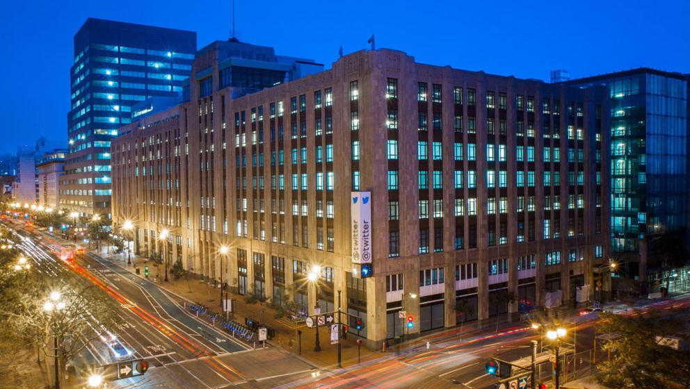 Das Twitter-Hauptquartier in San Francisco