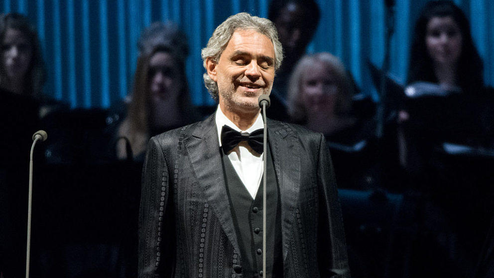 Andrea Bocelli 2016 in Berlin.