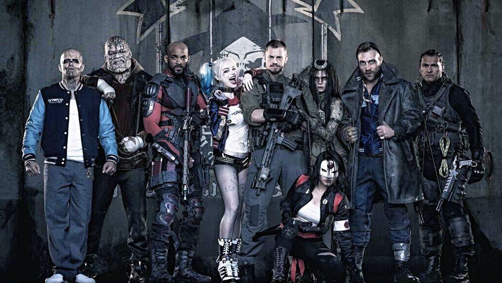 """Die (unnötig) vielen Mitglieder des """"Suicide Squad""""."""