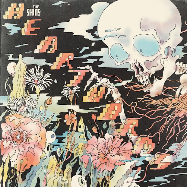 Cover-Artwork des neuen Shins-Albums HEARTWORMS
