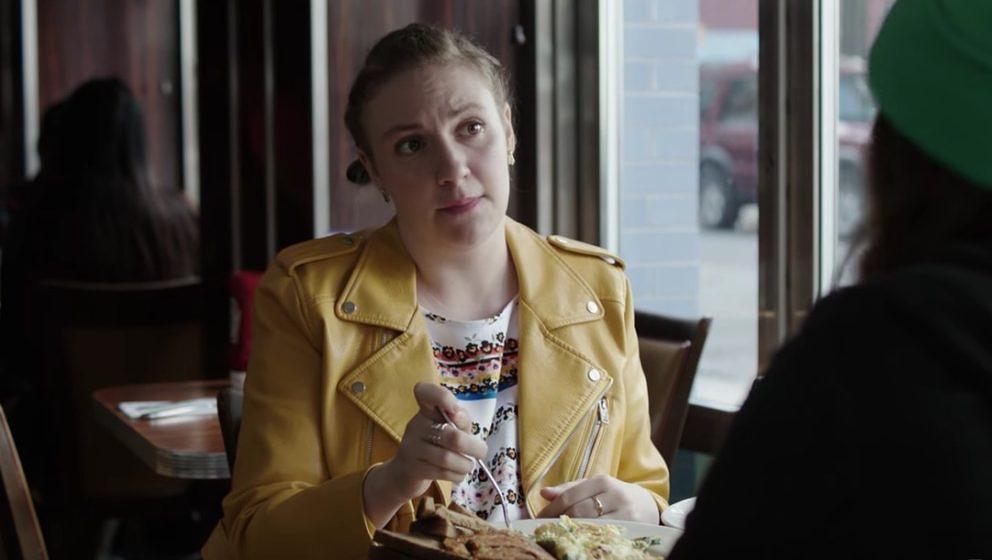 "Lena Dunham in ""Girls""."
