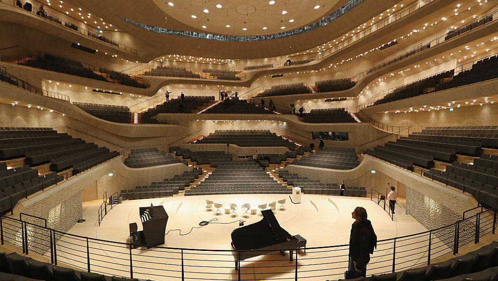 Die Elbphilharmonie –bald auch mit Zuschauern.