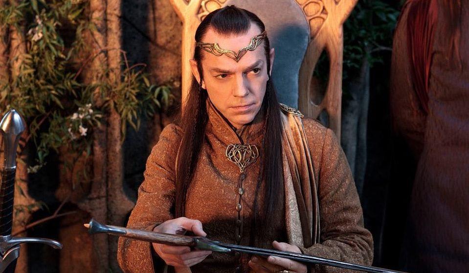 Hugo Weaving als Elrond.