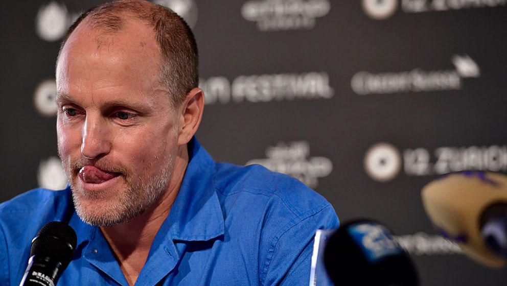 ZURICH, SWITZERLAND - SEPTEMBER 30:  Woody Harrelson attends the 'LBJ' Press Conference during the 12th Zurich Film Festival