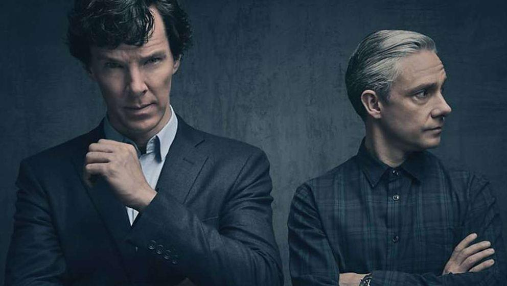 Benedict Cumberbatch (l.) und Martin Freeman.