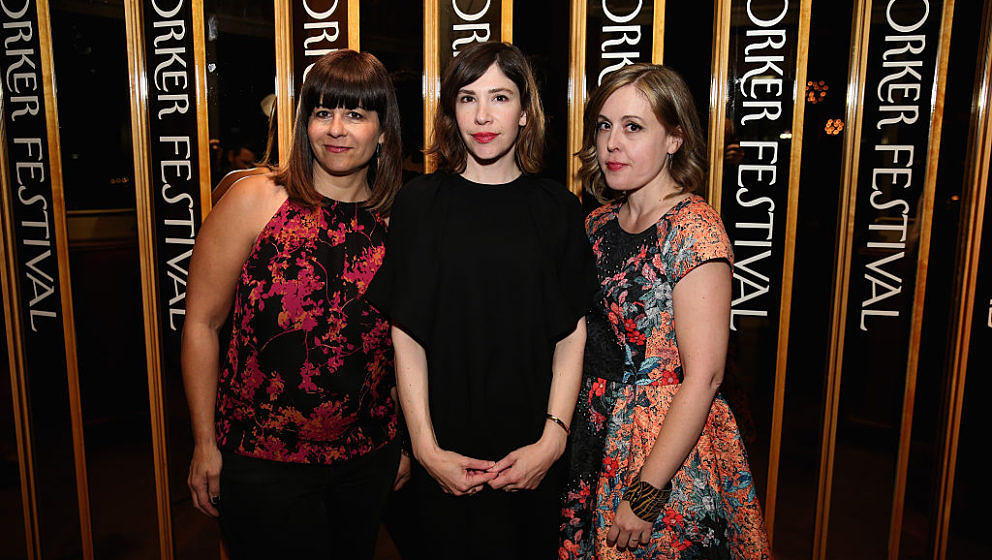 """attends the 2015 New Yorker Festival """"Wrap Party"""" hosted by David Remnick at the top of the Standard Hotel, 848 Washington Street, on October 3, 2015 in New York City."""
