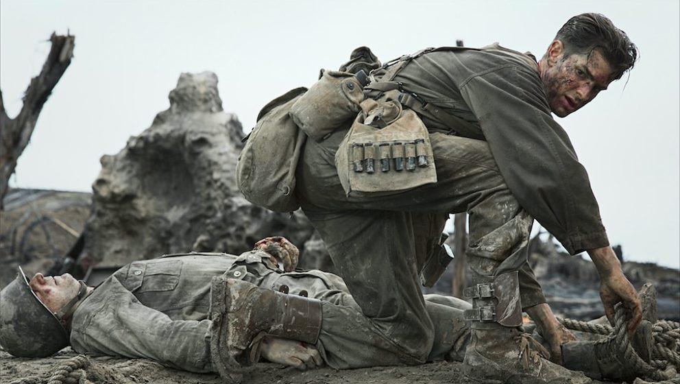 "Andrew Garfield in ""Hacksaw Ridge""."
