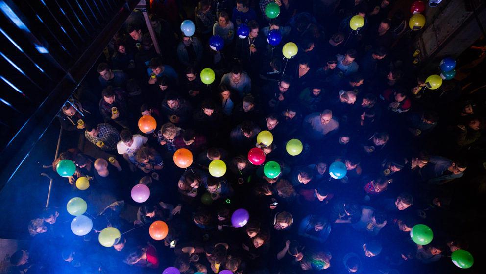 Publikum beim FM4 Geburtstagsfest