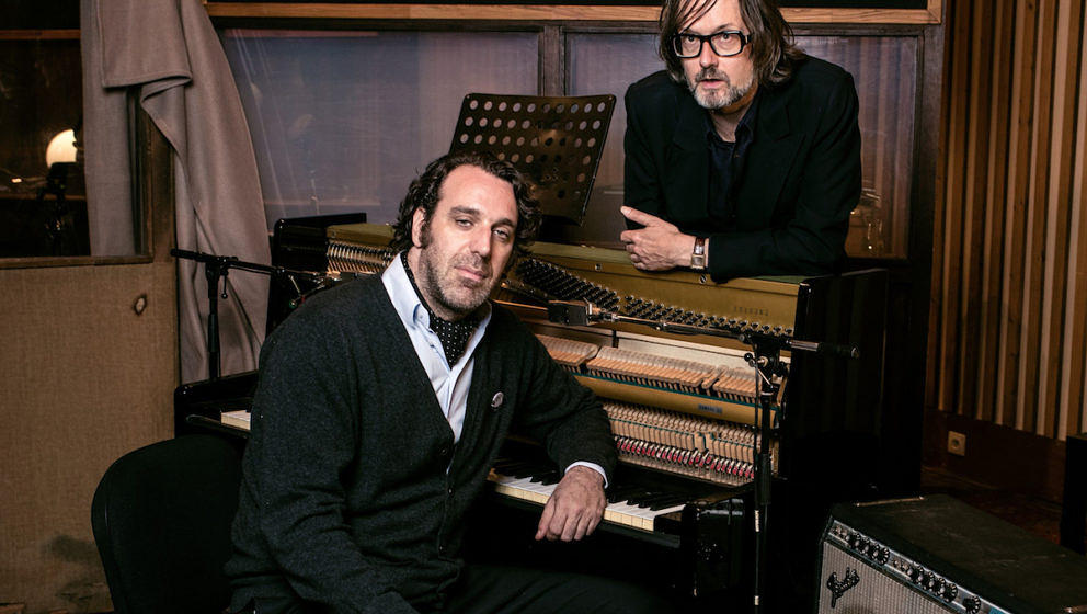 Jarvis Cocker und Chilly Gonzales im Room 29 im Chateau Marmont
