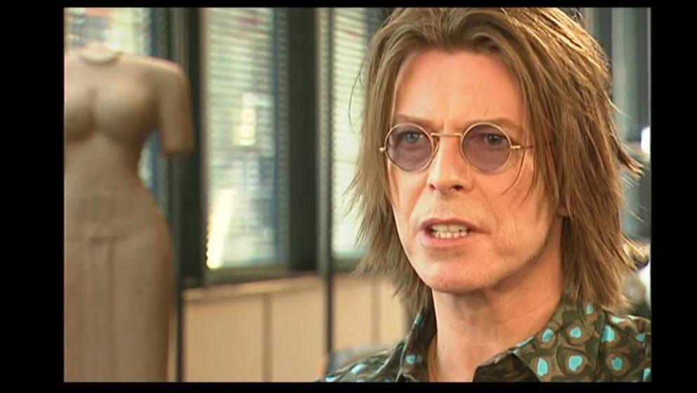 David Bowie im Interview mit der BBC.