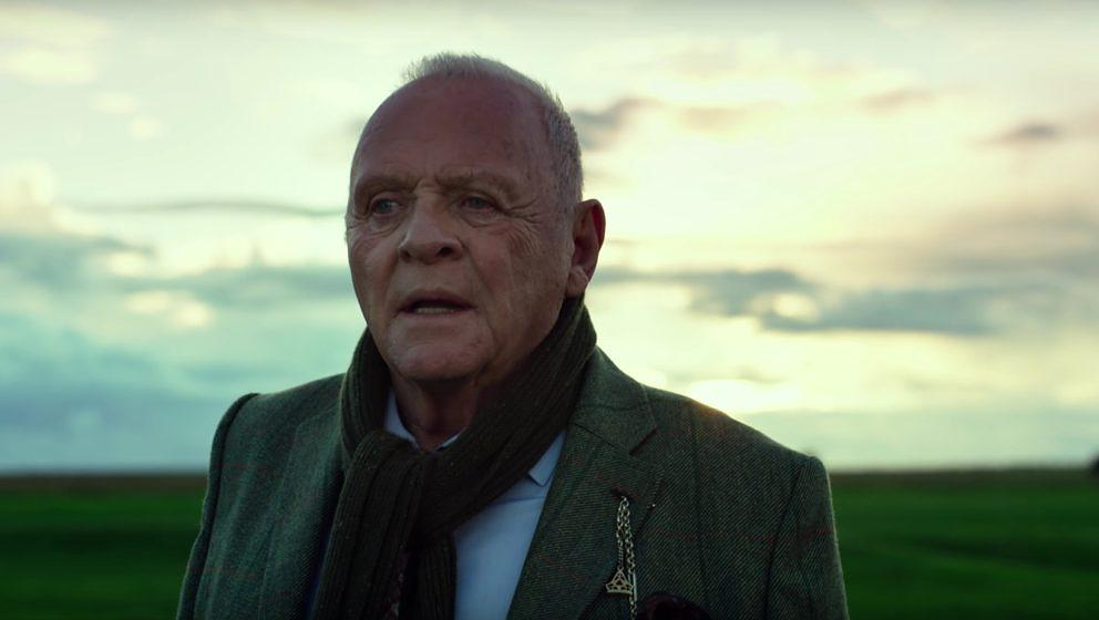 "Anthony Hopkins in ""Transformers: The Last Knight""."
