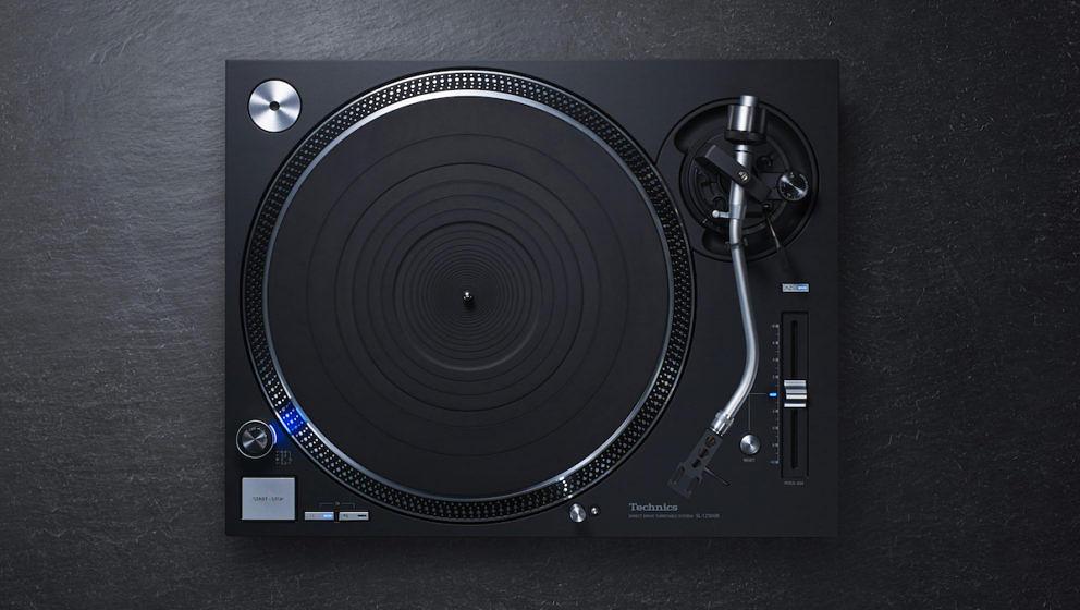 Der neue, schwarze Plattenspieler von Technics: SL-1210 GR
