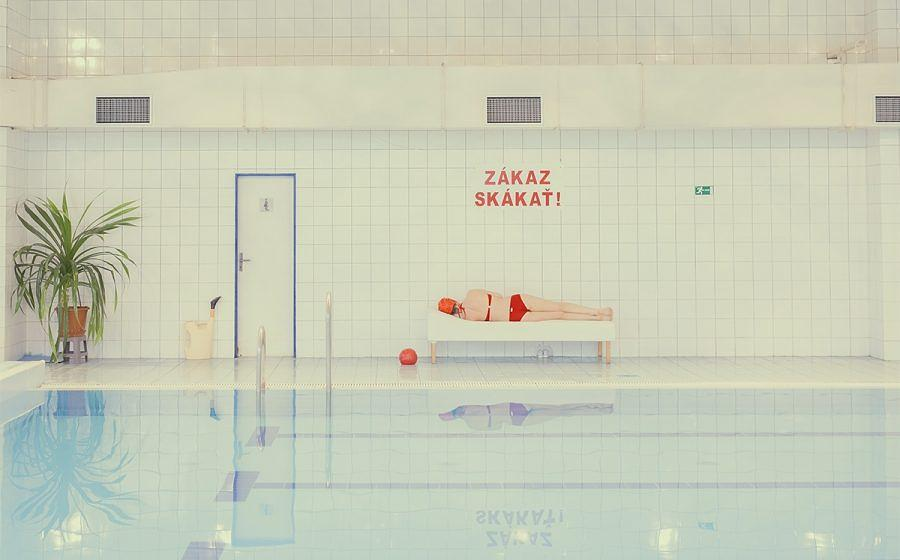 "Aus der Fotoserie ""Swimming Pool"""