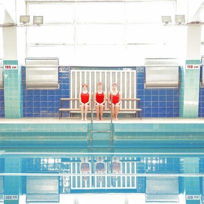 "Aus der Fotoserie ""Swimming Trinity"""