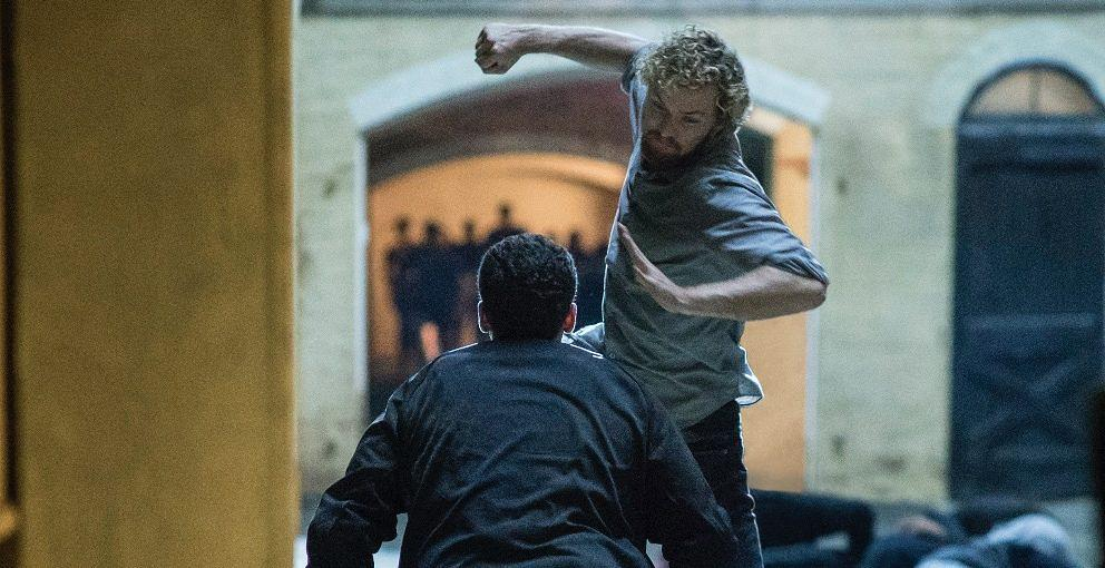 "Finn Jones als ""Iron Fist"""