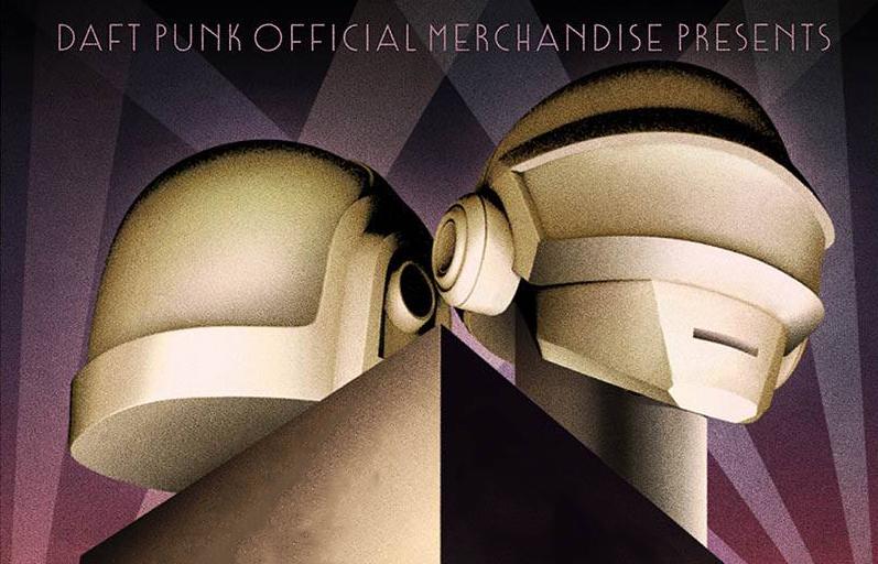 Das Facebook-Bild zum neuen Pop-up-Store von Daft Punk.