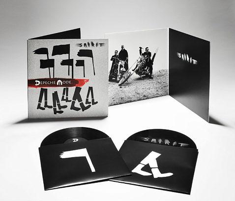 Die Vinyl-Fassung von SPIRIT