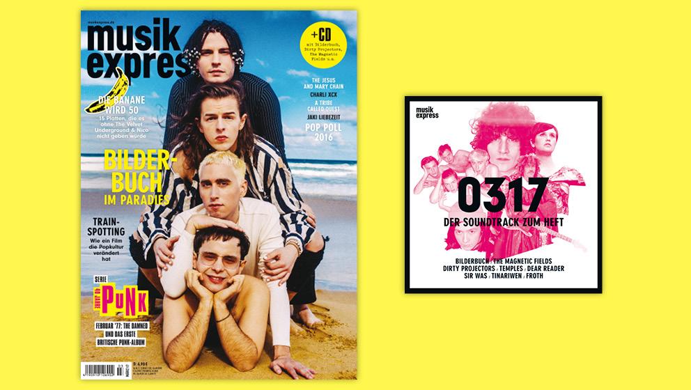 Der neue Musikexpress ab 16. Februar 2017 erhältlich.