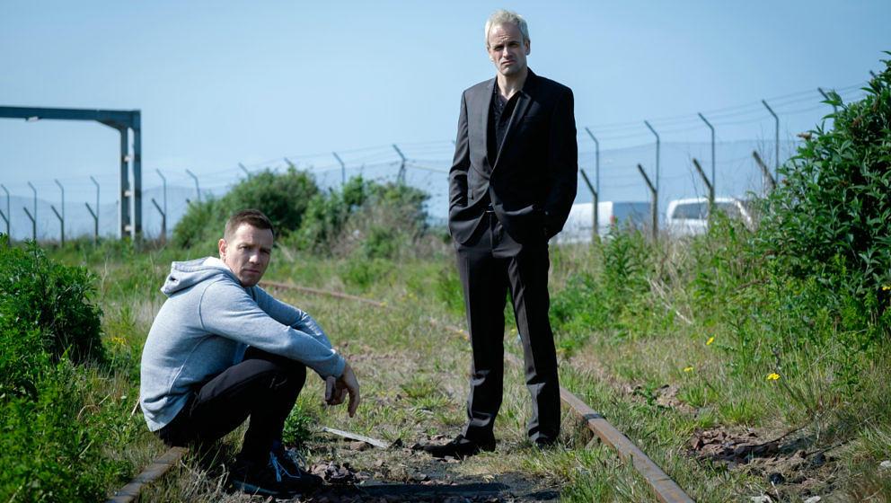 """Ewan McGregor und Jonny Lee Miller in """"T2""""."""