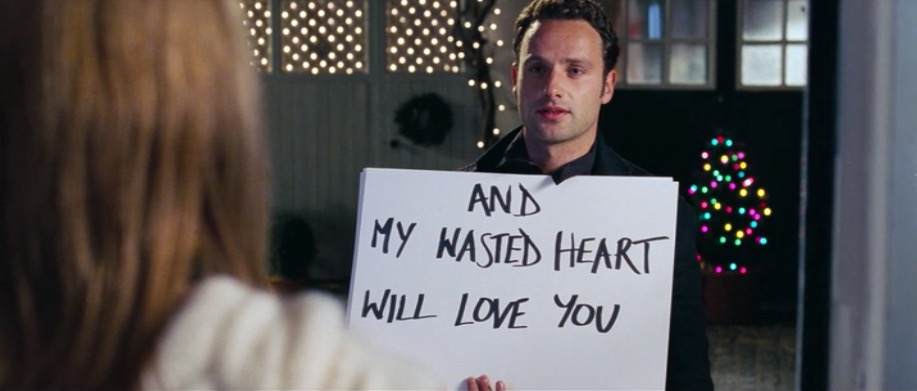 """Eine der bekanntesten Szenen aus """"Tatsächlich ... Liebe""""."""