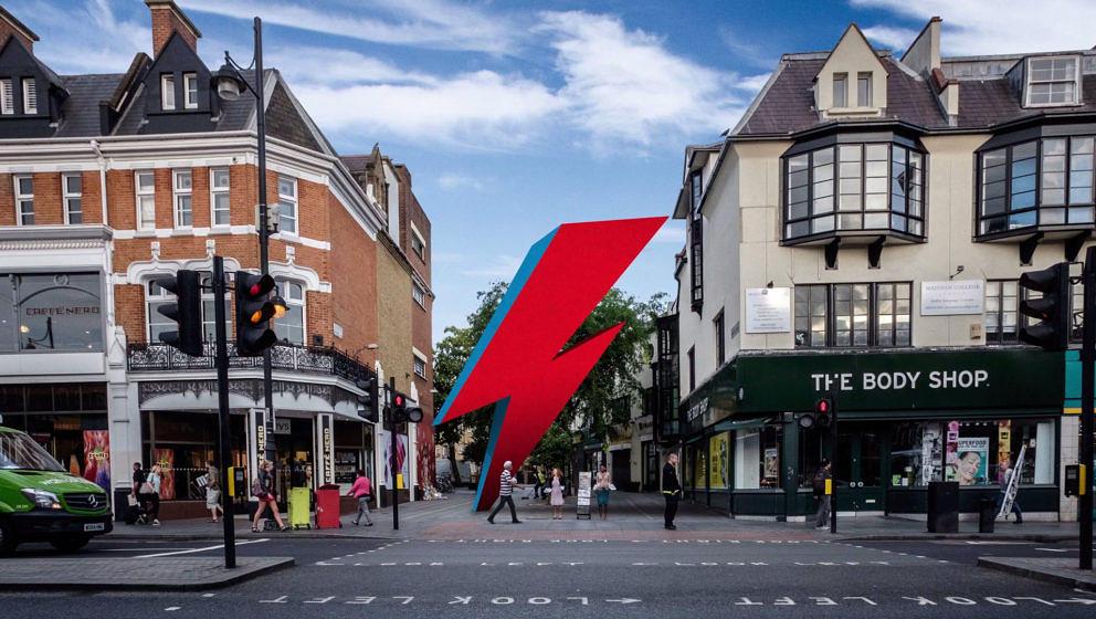 So soll das Denkmal in Brixton, London aussehen.