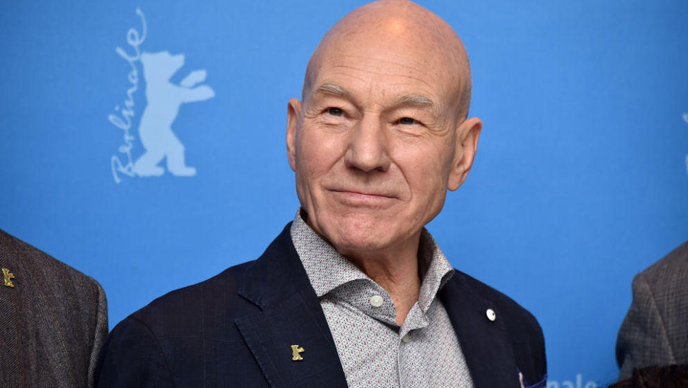 BERLIN, GERMANY - FEBRUARY 17:  Actor Patrick Stewart attends the 'Logan' (Masaryk) photo call during the 67th Berlinale Inte