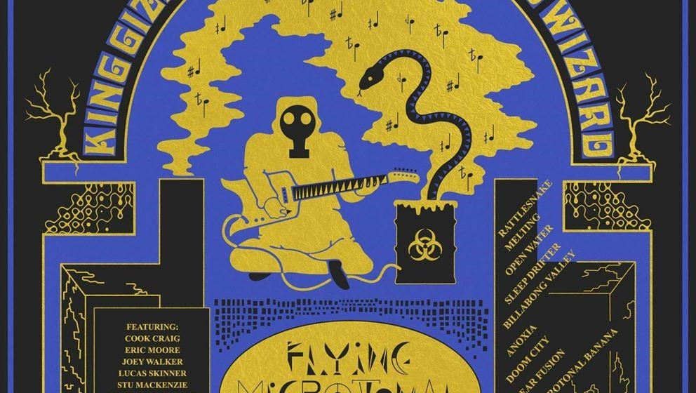 King Gizzard & The Lizard Wizard – FLYING MICROTONAL BANANA; VÖ: 24.02.2017