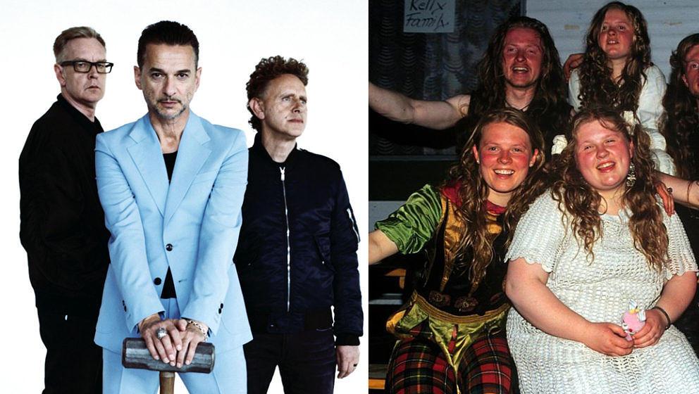 Haben in ihrer Karriere bereits viele Alben verkauft: Depeche Mode und The Kelly Family.