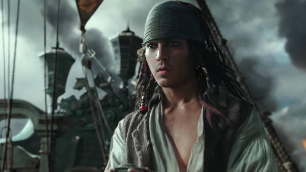 Durch Tricks am Computer wieder jung: Johnny Depp.
