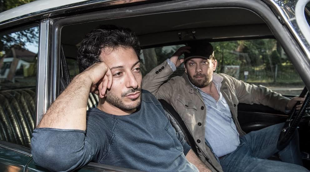 "Fahri Yardim (l.) und Christian Ulmen in ""jerks."""