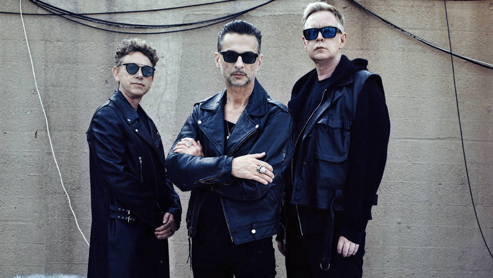 Depeche Mode treten schon am Freitag in Berlin auf - in denkbar kleinem Rahmen.