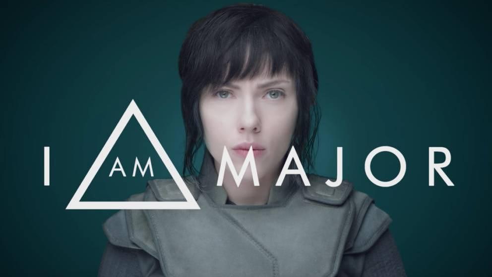 """Scarlett Johansson als """"The Major""""."""