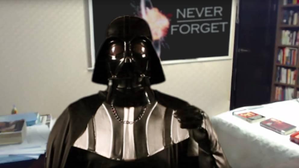 Darth Vader im Home Office