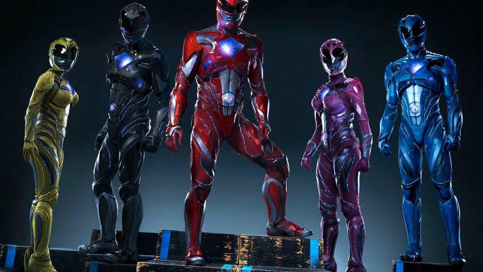 """Die """"Power Rangers"""" sind ab Donnerstag im Kino."""