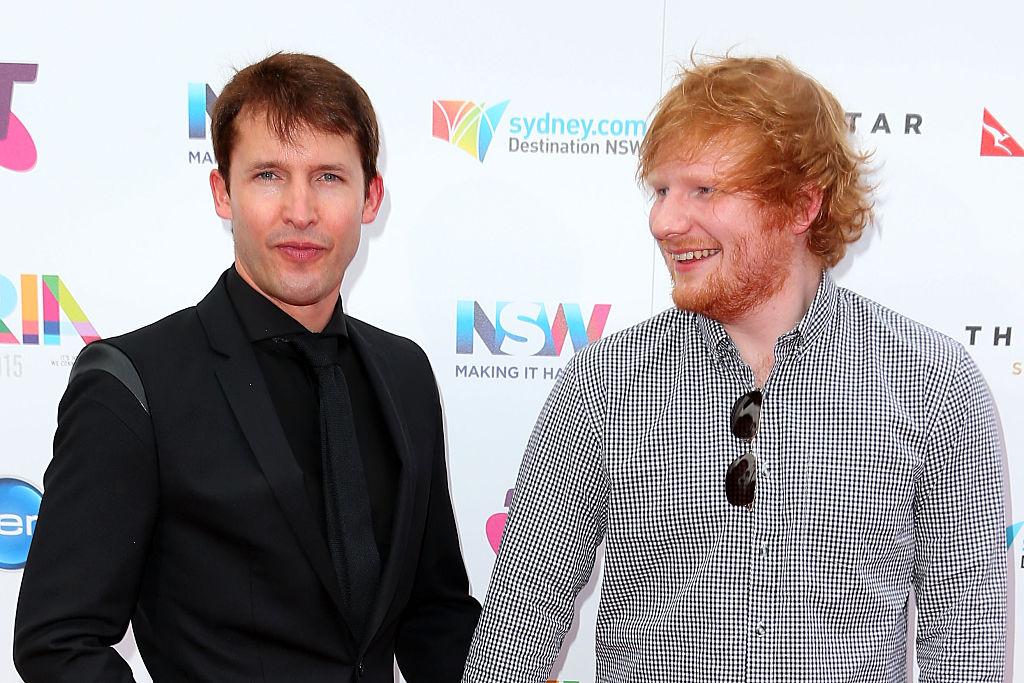 Ed Sheeran nimmt James Blunt in sein Vorprogramm auf