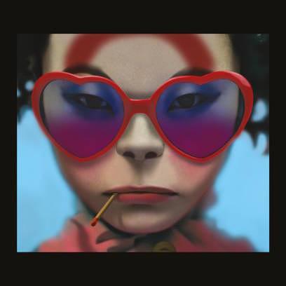 Das Cover-Artwork des neuen Gorillaz-Albums HUMANZ