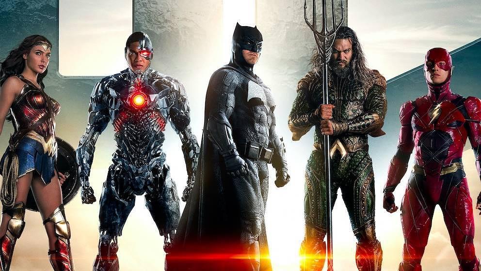 "Viele neue Helden: Die ""Justice League""."