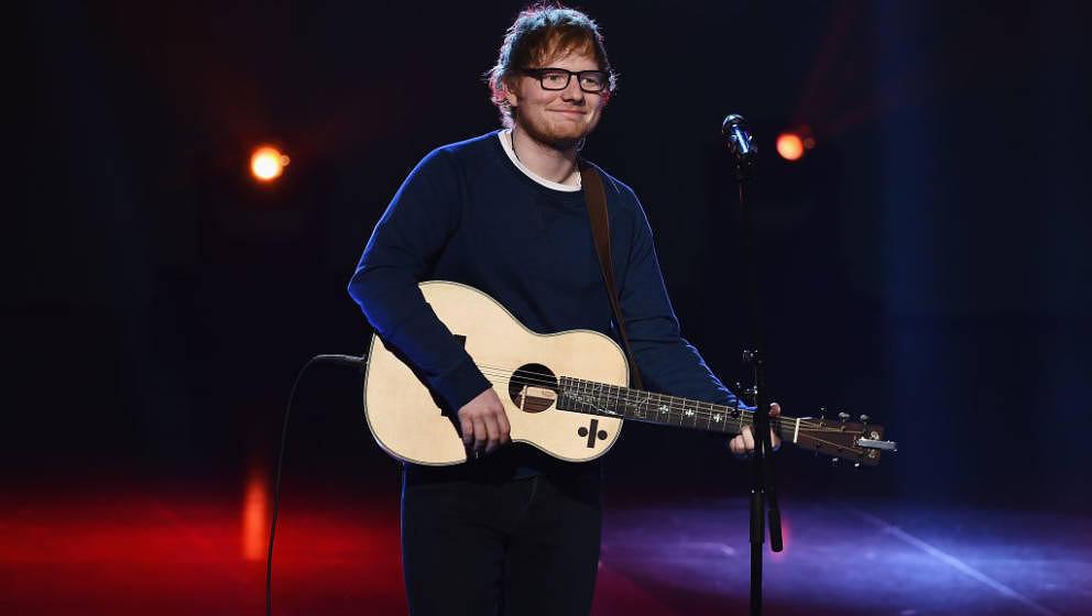 Er ist ein netter Kerl und weiß darum: Ed Sheeran, hier am 12. März 2017 in Mailand