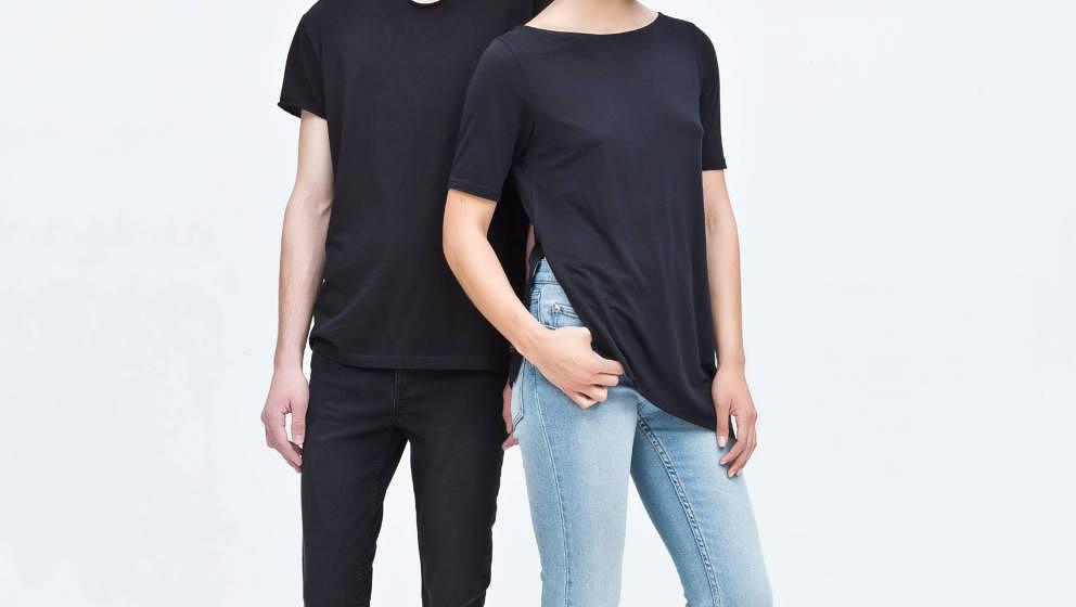 Hauteng, ripped style, grau, schwarz oder blau – tight jeans sind für Männer und Frauen da.