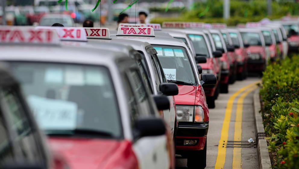 Sind in ein paar Jahren vielleicht alle arbeitslos: Taxifahrer (hier in Hongkong)