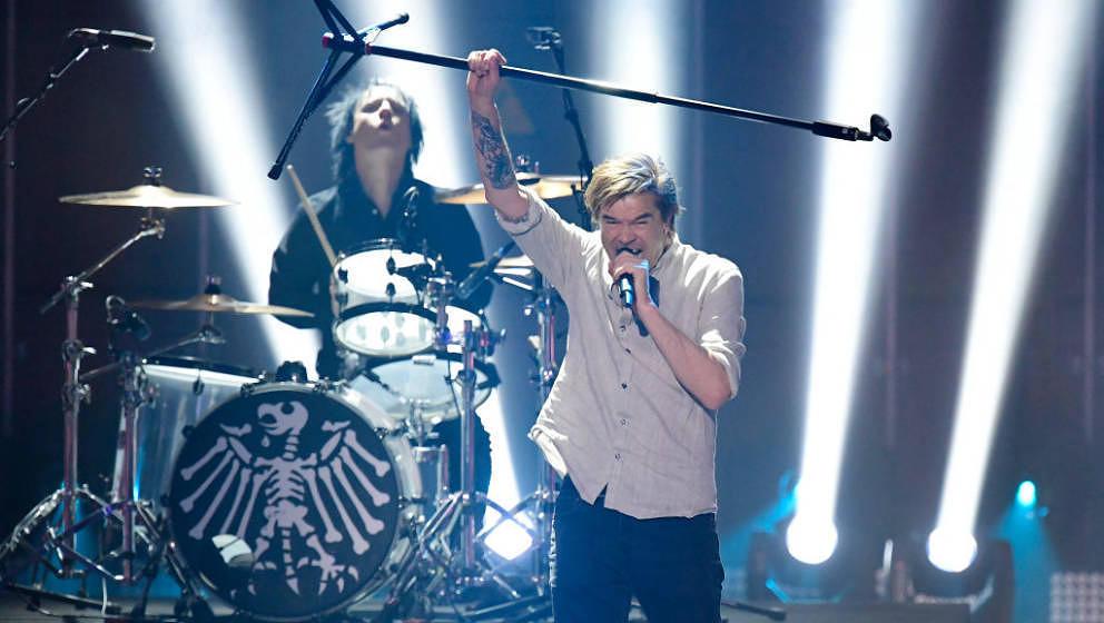 2017 stellten Die Toten Hosen beim Echo ihre neue Single vor. 2018 könnten sie den Preis wieder selbst mit nach Düsseldorf nehmen.
