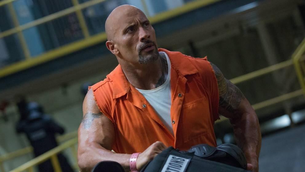 """""""The Rock"""" kabbelt sich im achten Teil mit Jason Statham."""