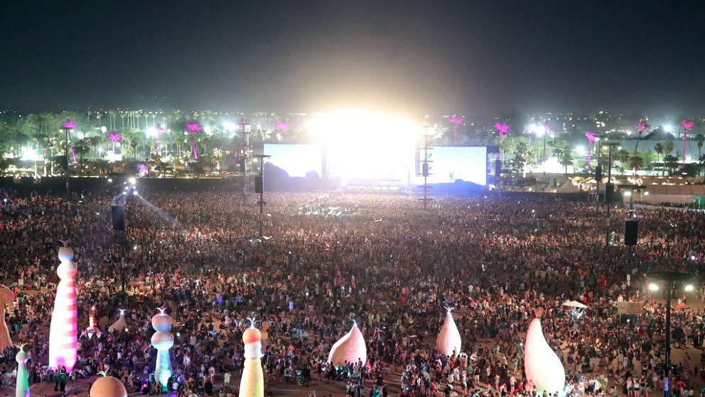 Das Coachella Festival 2017 von oben