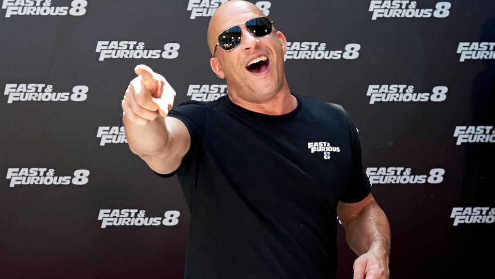 Hat gut lachen: Vin Diesels aktuelle Hauptrolle ist ein Selbstläufer