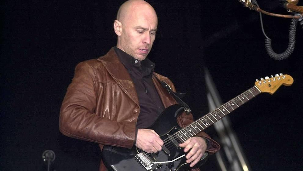 Das einzig verbliebende The-The-Mitglied Matt Johnson, hier im Jahr 2000