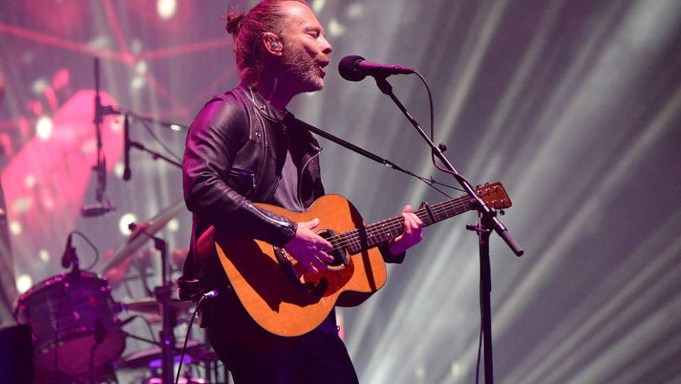 Thom Yorke mit Radiohead beim Coachella Festival 2017 (erstes Wochenende)