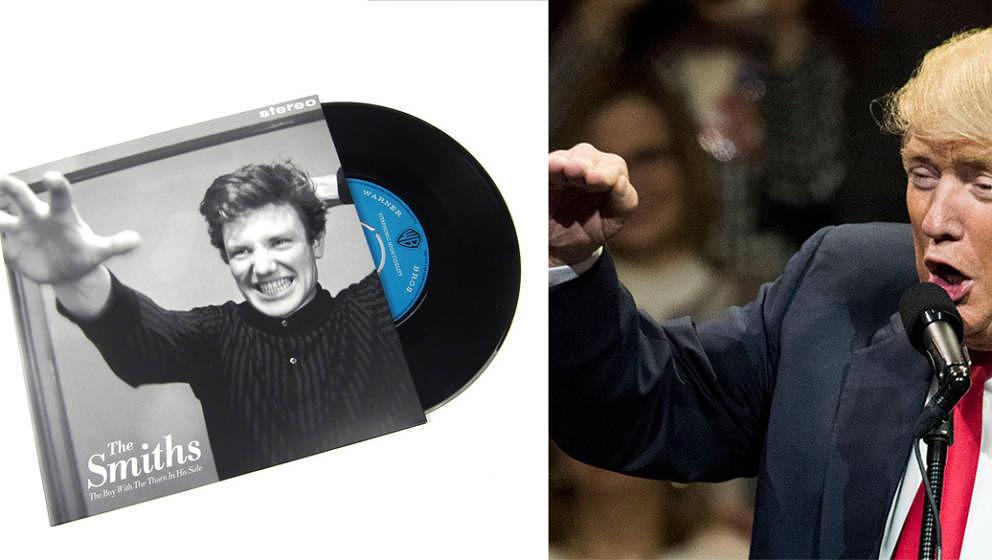 The Smiths haben zum Record Store Day eine Ansage gegen Trump unters Volk gebracht.