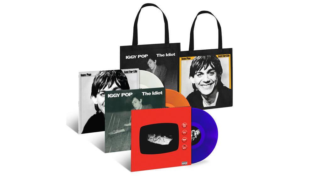 Iggy Pops erste Soloplatten kommen auf Vinyl neu heraus